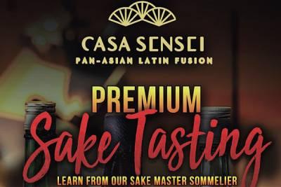 Eventbrite Sake Tasting