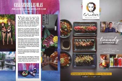 Hola Latinos Magazine Dining Feature