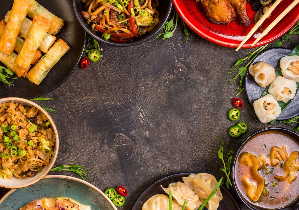Different Types of Asian Food: Similarities and Differences