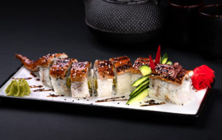 sushi roll Red Dragon